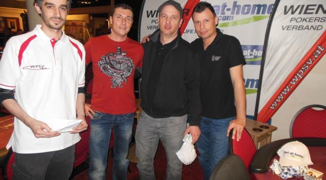 Titelverteidiger Poker Pros starten mit Bronze in die Wiener Landesliga 2014