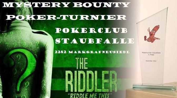 Robert Jelinek 3ter bei Mystery Bounty