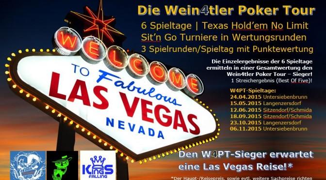 5. Spieltag Wein4tler Pokertour