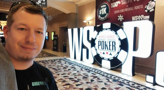 Robert Jelinek am Final Table bei WSOP Event #282