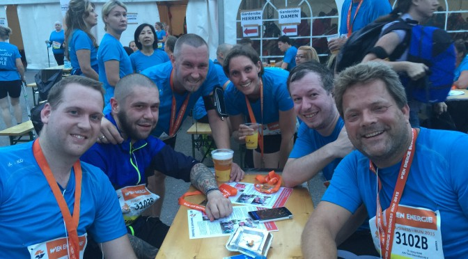 Running Bullets beim Wien Energie Business Run 2015