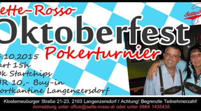Platz 4 für Jürgen Faller beim Sette Rosso Oktoberfest