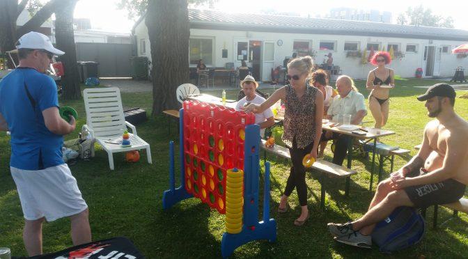 Super Stimmung beim PCAB Sommerfest