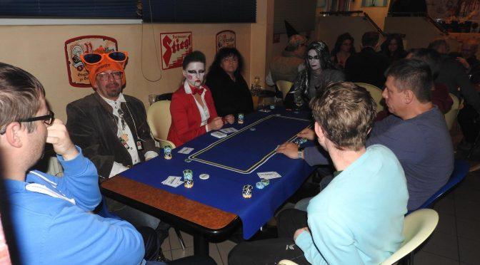 Alfred Auner wird Bubble bei PSVCR Halloween Poker Night