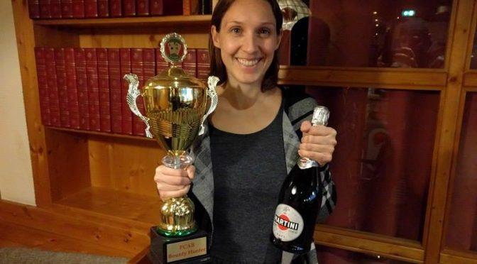 Sarah Strak ist PCAB Champion und Bounty Hunter 2016