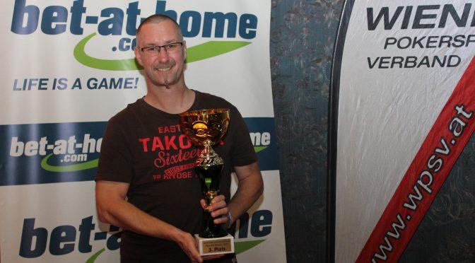 Bronze für Alfred Auner bei PLO Landesmeisterschaft