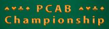 PCAB Championship Serie