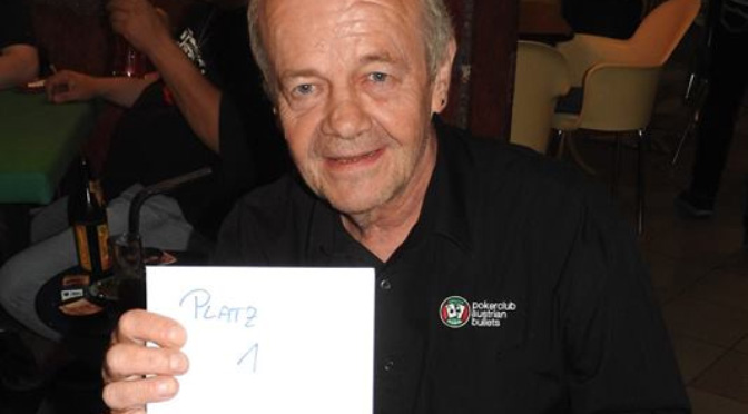 Sieg beim PSVCR Mystery Bounty für Johann Krejci