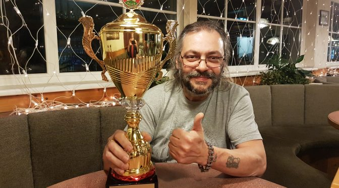 Oskar Tomrle ist PCAB Champion 2018